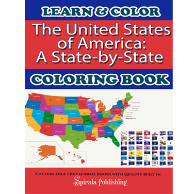 The United States of America: A State-by-State Coloring book ...