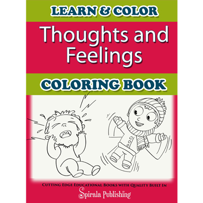 thoughts and feelings coloring book - Feelings Coloring Book